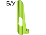 ! Б/У - Technic, Panel Fairing # 7 Small Long, Large Hole, Side A, Lime (32534 / 4263109) - Б/У