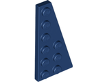 Wedge, Plate 6 x 3 Right, Dark Blue (54383 / 4529824 / 6006630)