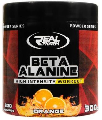 (Real Pharm) Beta Alanine Powder - (300 гр) - (апельсин)
