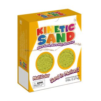Песок WABA FUN 150-203 Kinetic Sand (2,27 килограмм) Желтый