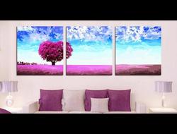 "Картина по номерам ""Красочное дерево"", триптих 5050 см3 шт."