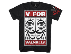 Футболка Hardcore Training V For Valhalla