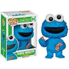 Funko Pop! Sesame Street: Cookie Monster | Фанко Поп! Улица Сезам: Коржик