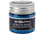 Acrylic Paint-Metallique Blue 1.7oz
