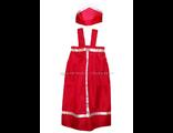 Костюм детский для народных танцев «Сарафан (30*60)+кокошник» №1 купить народный костюм для девочки