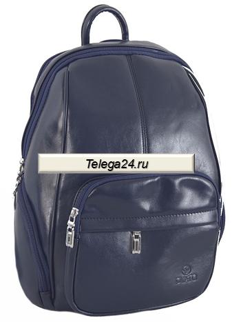 56e73184b332 Рюкзак классический женский PYATO тёмно-синего цвета - купить за ...