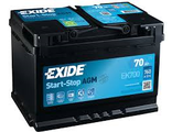 Exide Start Stop EK700 AGM 70 (75) AH