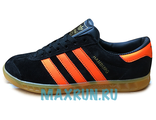 Кеды Adidas Hamburg черные