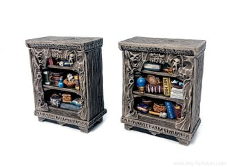Dark Magister bookshelves  (new version) PAINTED