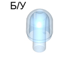 ! Б/У - Light Cover with Internal Bar / Bionicle Barraki Eye, Trans-Medium Blue (58176 / 4506480 / 6006124) - Б/У