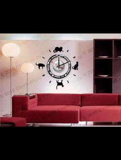 Настенные часы Cats 012