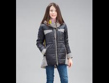 Парка для девочек C1681 Jan Steen ( цвет черный, бордо)