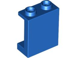 Panel 1 x 2 x 2 with Side Supports - Hollow Studs, Blue (87552 / 4586548)