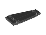 Technic, Panel Plate 5 x 11 x 1 Tapered, Black (18945 / 6164383)