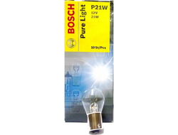 Лампа BOSCH Pure Light Standart 12V P21W 1 шт.