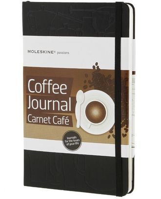 Moleskine Passions Coffee Journal (Книга кофе), Large, черный