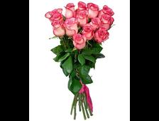 Длинные розы букет Карусель