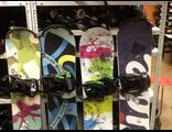 Сноубордический комплект с прокатными креплениями и ботинками бу оптом.