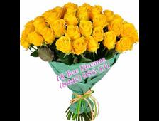 23 желтых роз доставка Волгоград