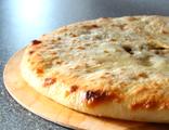 Осетинский пирог с нежной рубленой телятиной и помидорами черри