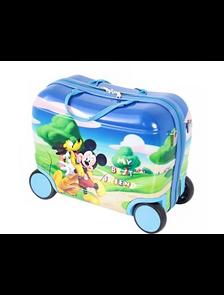 Детский чемодан на 4 колесах Микки Маус Дисней / Mickey Mouse Disney - Best friend