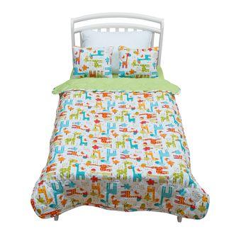 Детское покрывало с подушками 3 предмета Shapito by Giovanni Safari Kids