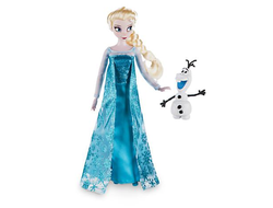 Эльза 2016г с Олафом /  Elsa Classic Doll with Olaf Figure