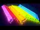 хис, светящиеся палочки, в тубусе, 100штук, химический источник света, неоновые палочки, браслеты