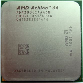 Процессор AMD Athlon 64 3000 1.8 Ghz socket AM2 (комиссионный товар)