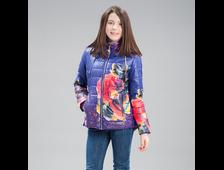 Куртка для девочек C1685 , Jan Steen ( цвет синий и хаки)