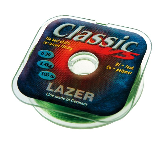 "Леска ""Lazer Classic VS""  100м0,60мм, тест 28,3кг, цв. светл"