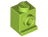 Brick, Modified 1 x 1 with Headlight, Lime (4070 / 4183879 / 4540460 / 6069010)