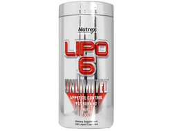 Nutrex Lipo-6 Unlimited (120 капс)