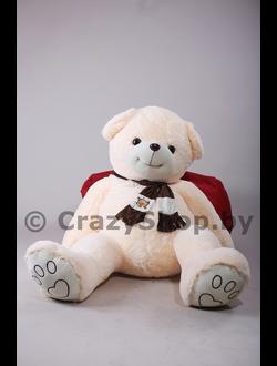 """Медведь """"Доменик"""" бежевый (персиковый) 170 см."""
