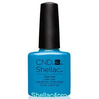 CND Shellac Digi-teal - Art Vandal Collection 2016