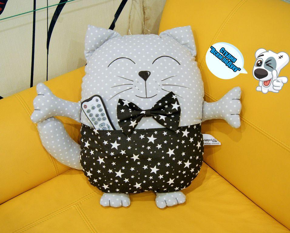 Декоративные подушки кошки своими руками выкройки фото схемы 27