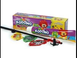 Детская зубная паста Kodomo Grape с 6 месяцев + игрушка, 45 г