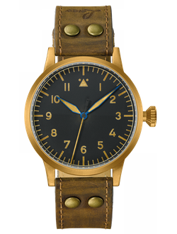 Часы мужские LACO ORIGINAL SAARBRUCKEN BRONZE 45 MM AUTOMATIC 862085