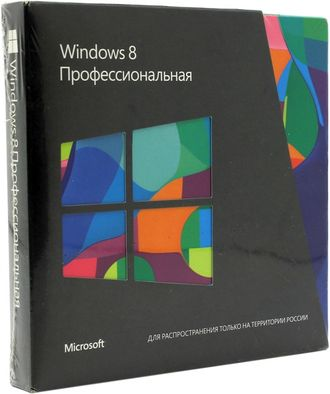 Microsoft Windows 8 Professional VUP 32/64 bit RU BOX 3UR-00033