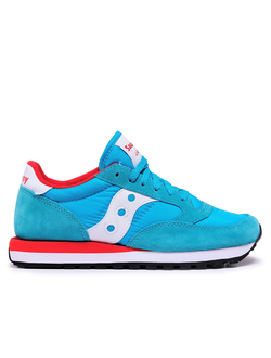 Женские кроссовки Saucony Jazz Original Aqua Blue/Red