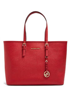 Сумка Michael Kors Jet Set Travel Red / Красная