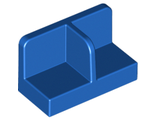 Panel 1 x 2 x 1 with Rounded Corners and Center Divider, Blue (93095 / 6093271 / 6127662)