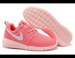 Кроссовки Nike Roshe Run кораловые
