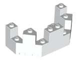 Castle Turret Top 4 x 8 x 2 1/3, White (6066 / 6097483)