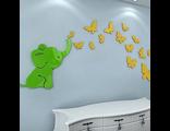 """Декор для детской """"Волшебный слоник"""""""