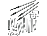 106-6051 S&S Cycle Quickee Adjustable Pushrods for 1999-'15 big twins w/ stock engine height +/- .050""