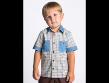 Рубашка для мальчика Ш006