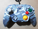 №023 HORI PAD CUBE Контроллер для Nintendo GameCube Grey Urban Camo (Камуфляж)