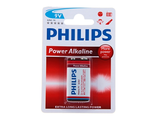 Батарейка алкалиновая Philips 6LR61-1BL Power life крона, блистер