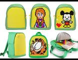 Детский рюкзак Upixel mini Backpack зеленый желтый WY-A012